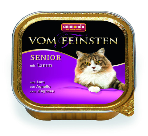 Консервы Animonda Vom Feinsten Senior с ягненком для кошек старше7 лет