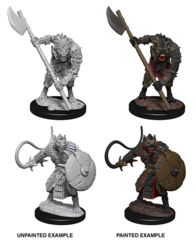 Pathfinder Deep Cuts Unpainted Miniatures - Gnolls