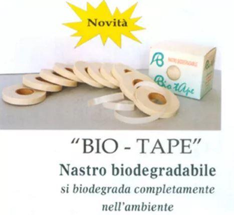 Лента для обвязки Bio Tape биоразлагаемая Alvaro Bernardoni