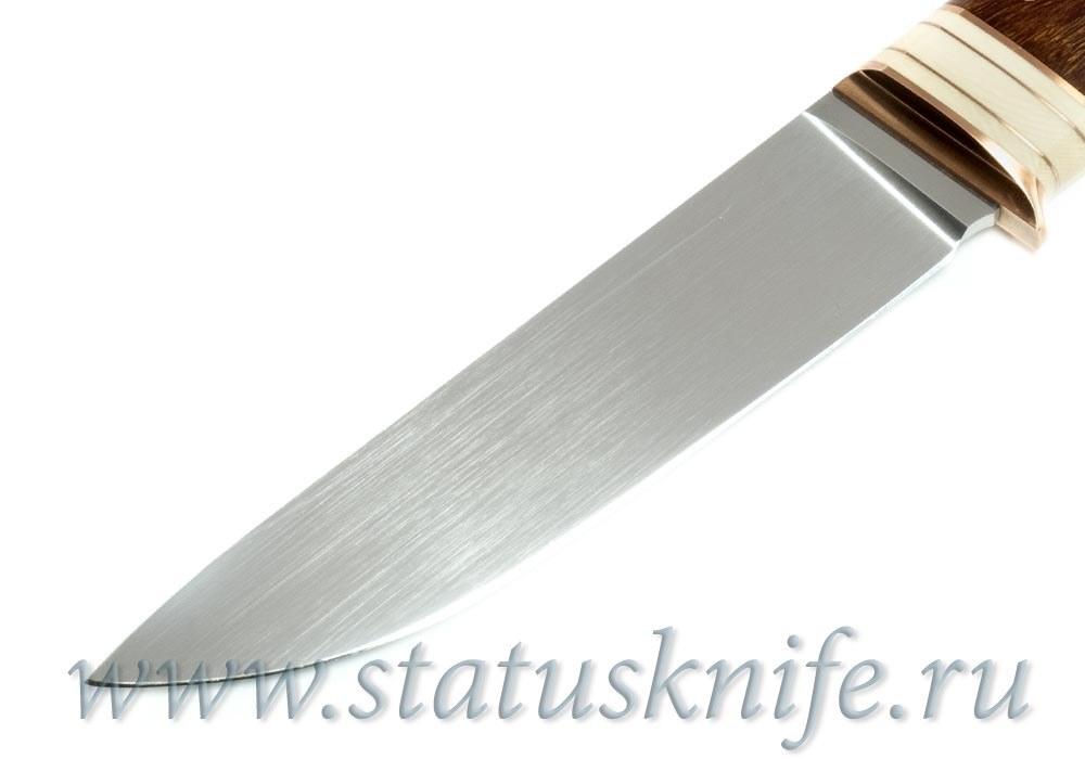 Нож авторский S125VN мамонт ironwood - фотография
