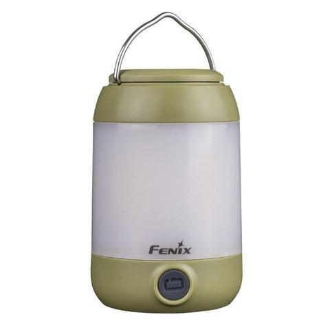 Фонарь светодиодный Fenix CL23 зеленый, 300 лм, 3-АА