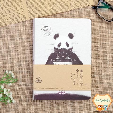 Блокнот Панда. Тип 2