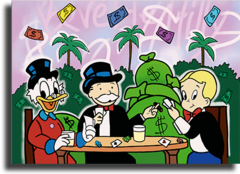 "Постер ""Monopoly, Rich and McDuck"""