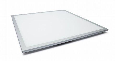 Ультратонкая светодиодная панель серии СВО 595х595, 40 Вт, 4000 К, хром, Народная