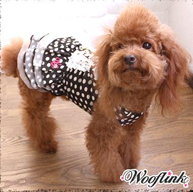 купить платье для собак в горошек