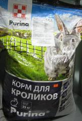 Комбикорм для кроликов, Пурина, 25кг