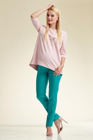 Туника для беременных и кормящих 07698 розовый