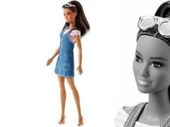 Кукла Барби Модница Джинсовый стиль
