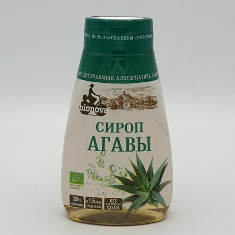Агавы сироп светлый органический сахарозаменитель BIONOVA