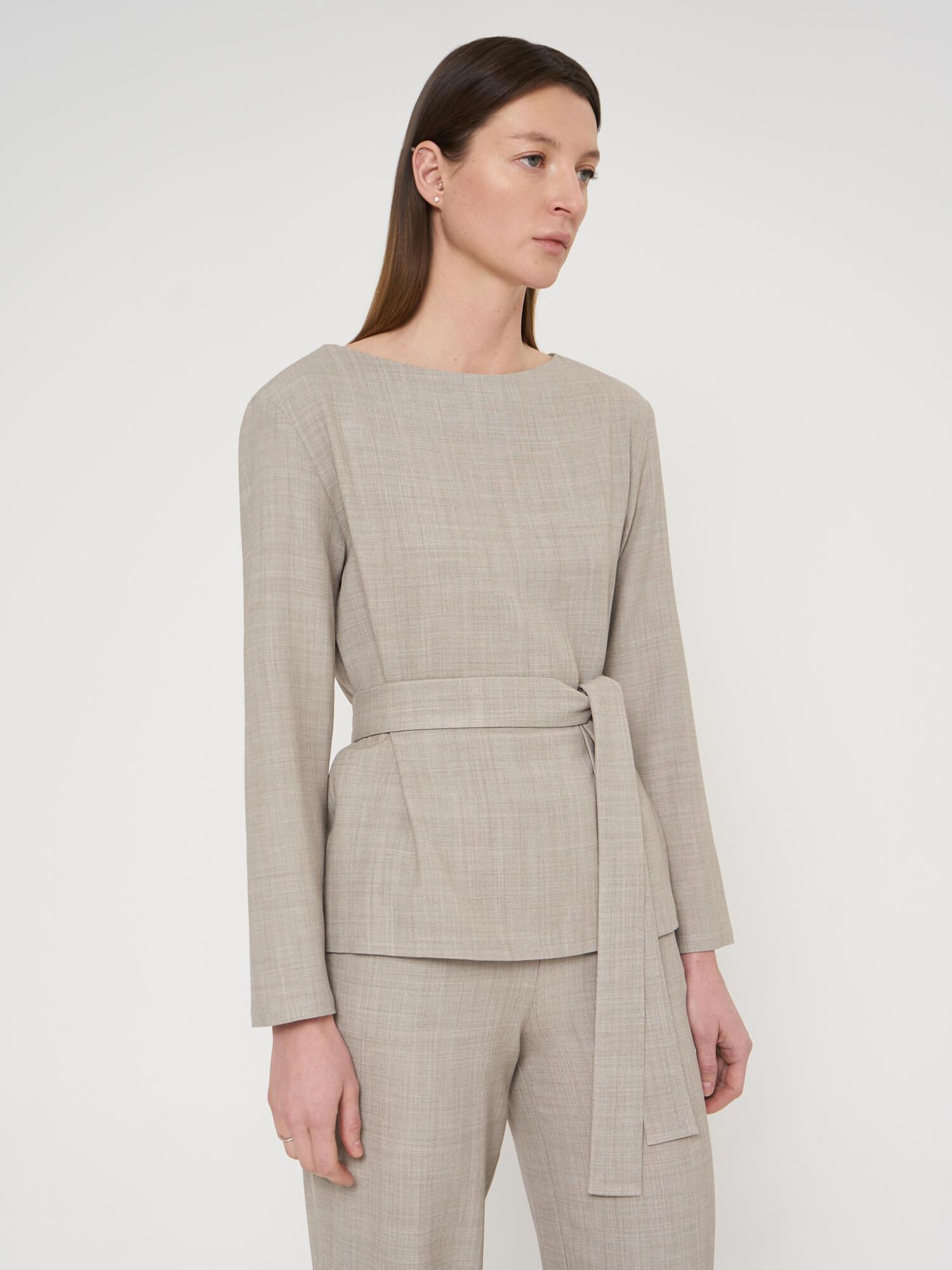 Блуза Leia с длинным рукавом