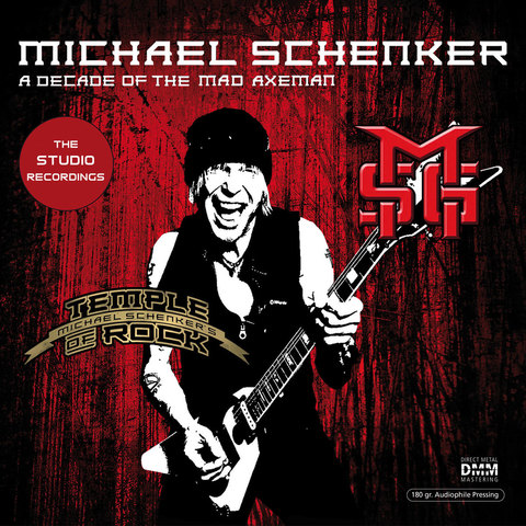Inakustik LP, Schenker Michael: A Decade Of The Mad Axeman (Studio Recordings), 01691586