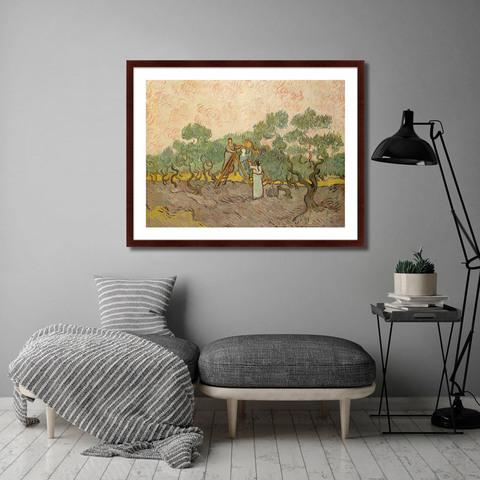Винсент Ван Гог - Olive Picking, 1889г.