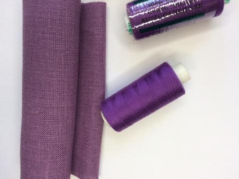 Нитки Dor Tak 165, фиолетовый