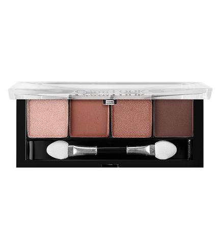 LuxVisage Glam Look Тени для век 4-х цветные тон 7 (розовая медь)