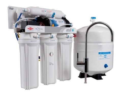 Система в/о бытовая atoll A-550p STD (A-560Ep) (5 ст. очистки, насос пов. давл., 260л/с) с солен. клап.