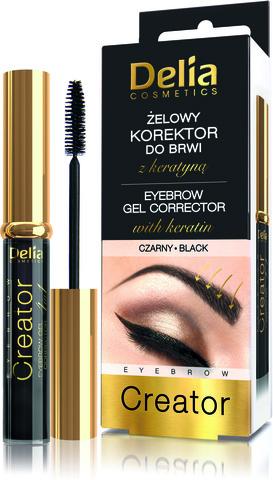 Delia Cosmetics Корректор для бровей черный 7мл
