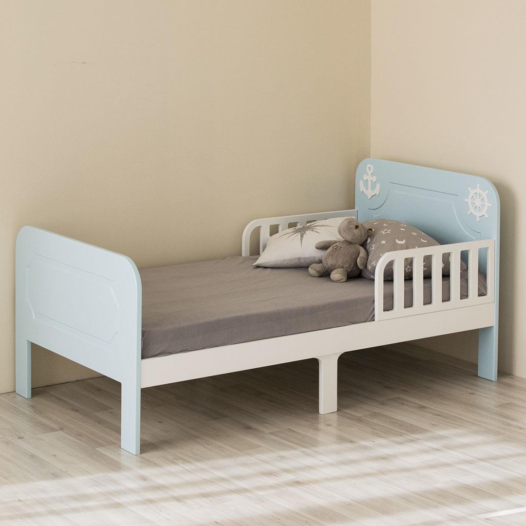 Кровать подростковая Море Голубая