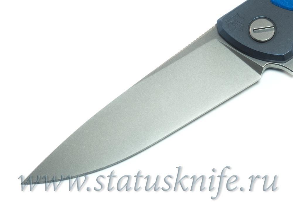 Нож Широгоров Флиппер 95 M390 накладка G10 анодирование - фотография
