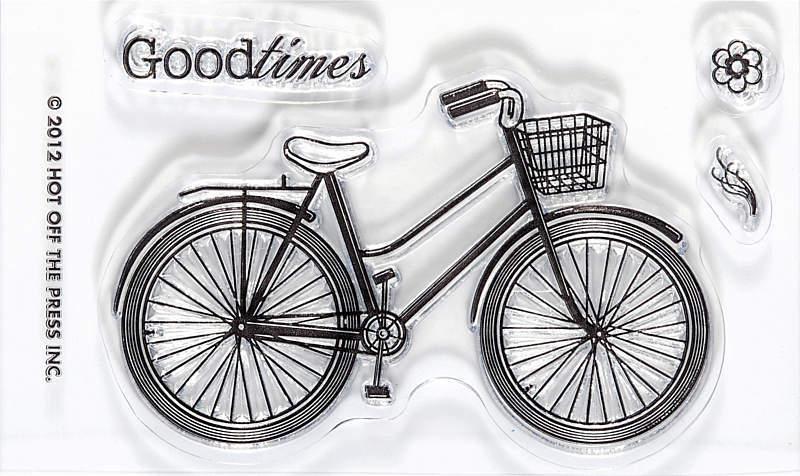 Штамп «Велосипед»