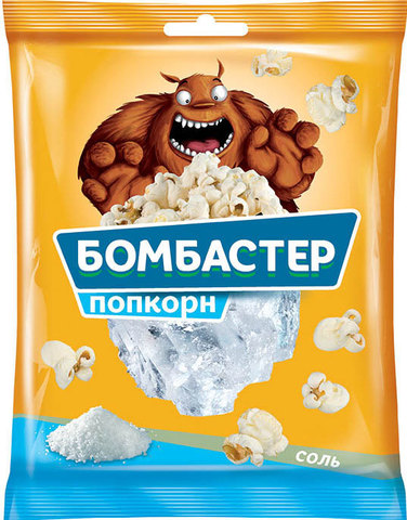 """Попкорн """"Бомбастер"""" с солью 35 г"""