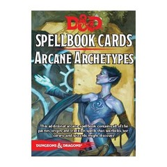 D&D Next: Spellbook Cards (Arcane Archetypes)