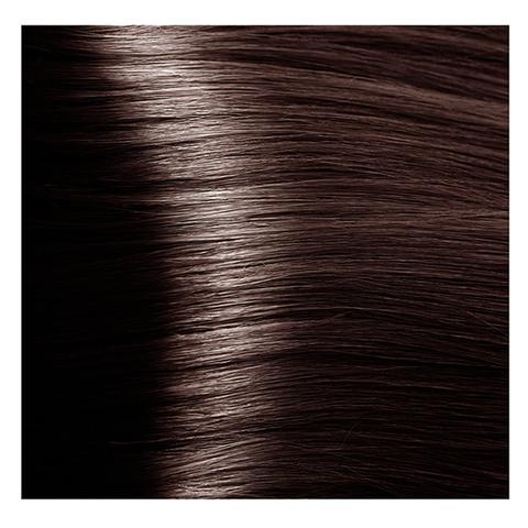 Крем краска для волос с гиалуроновой кислотой Kapous, 100 мл - HY 6.8 Темный блондин капучино