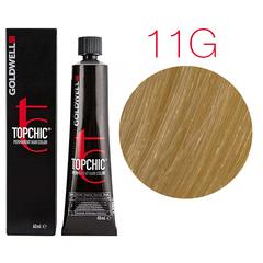 Goldwell Topchic  11G (светлый золотистый блондин) - Cтойкая крем краска