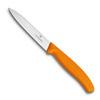 Нож Victorinox для очистки овощей, лезвие 10 см, оранжевый