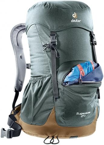Картинка рюкзак туристический Deuter Zugspitze 24 Pine-Navy