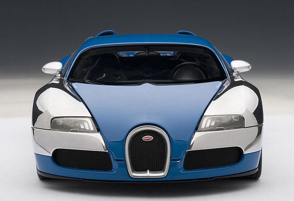 Коллекционная модель Bugatti EB Veyron 16.4 L'Edition Centenaire 2009 French Blue