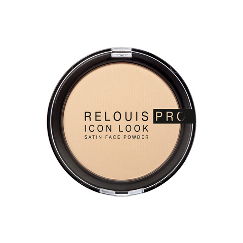 Relouis pro Пудра компактная Icon Look Satin Face Powder тон 01