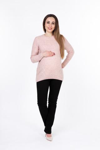 Свитер для беременных 09906 розовый
