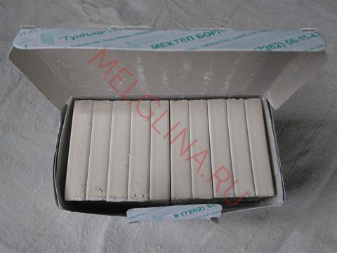 Мел прессованный Тунгыш Тараз коричневая коробка (соленый)