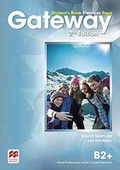 Gateway Second Edition  B2+ Student's Book Premium Pack