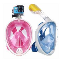 Полнолицевая маска для подводного плавания снорклинга DivingMask