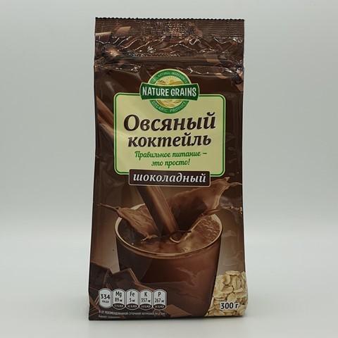 Коктейль овсяный шоколадный КОМПАС ЗДОРОВЬЯ