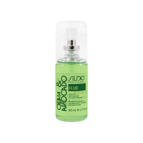 Флюид для секущихся кончиков волос с маслами авокадо и оливы  Kapous, 80 мл