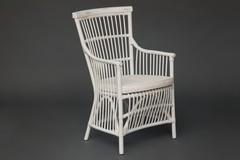 Кресло Secret De Maison Ривьера (RIVIERA) с подушкой — белый+натуральный дистресс