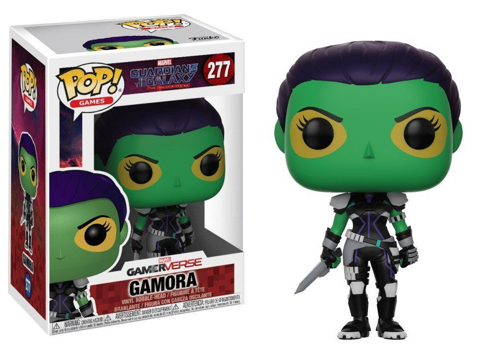 Фигурка Funko POP! Bobble: Marvel: Guardians O/T Galaxy: Gamora 24520