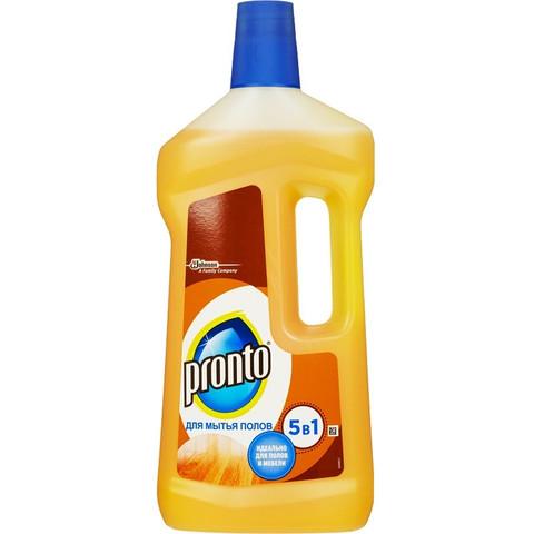Средство для мытья пола ПРОНТО д/ деревянных полов 750мл