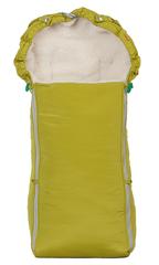 Чудо-Чадо. Конверт меховой Классика, зеленый, вид 1