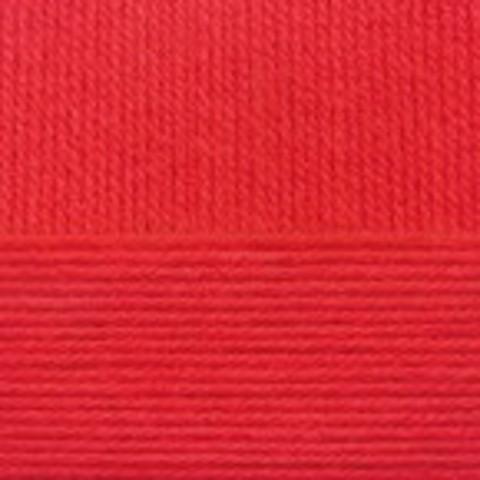 Купить Пряжа Пехорка Кроссбред Бразилии Код цвета 088-Красный мак | Интернет-магазин пряжи «Пряха»