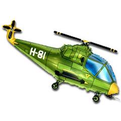 F Мини фигура Вертолет (зеленый) / Helicopter (14
