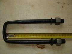 Стремянка рессор 469 (195 мм) Удлин.  в сб.с гайкой, гровером
