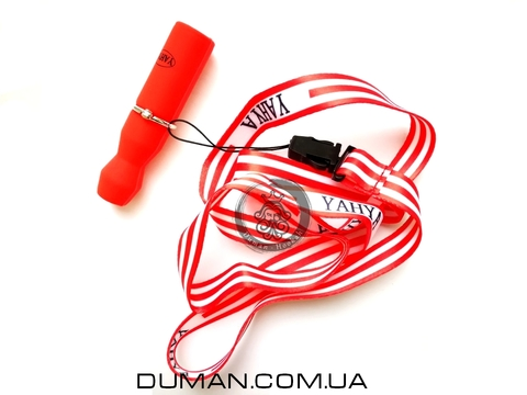 Персональный мундштук Yahya силиконовый Soft-Touch для кальяна |Красный
