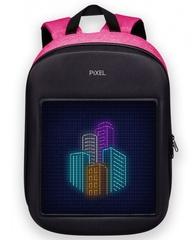 Умный рюкзак с дисплеем розовый