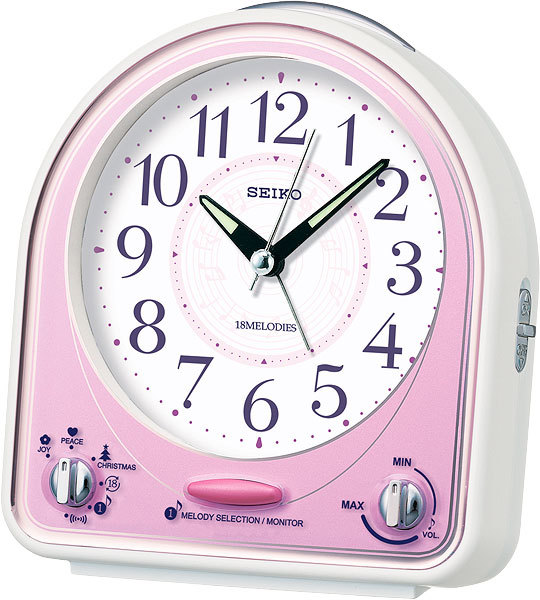 Настольные часы-будильник Seiko QHP003P