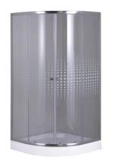 Душевой уголок Parly Z911 90Х90 см с низким поддоном