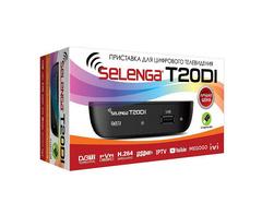 Цифровая приставка Selenga T20 DVB-T2\C
