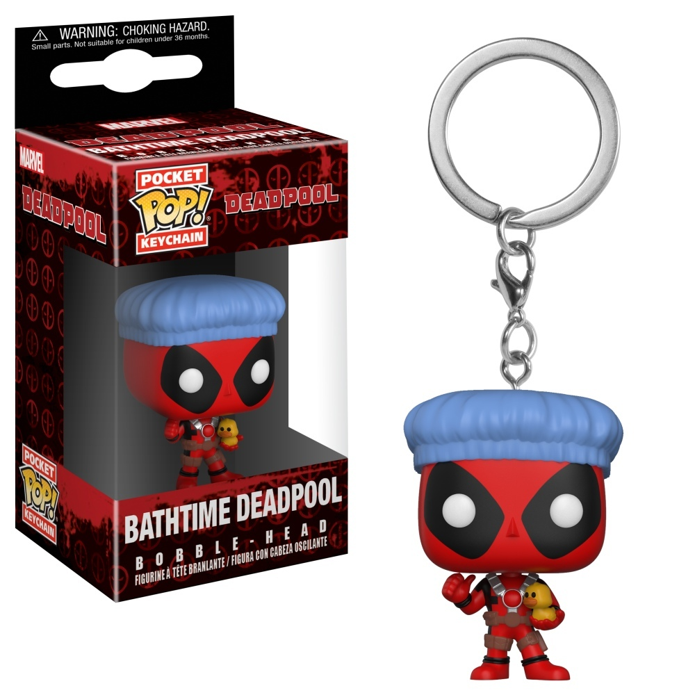 Брелок Funko Pocket POP! Keychain: Deadpool BathTime 31734-PDQ